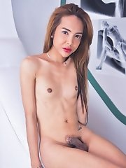 Long One Of Our Most Popular Models, Skinny Ladyboy Julia Shiroya Is Back In This Short But Very Seductive Set. This Is Actually From Julia'